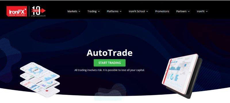 IronFX AutoTrade